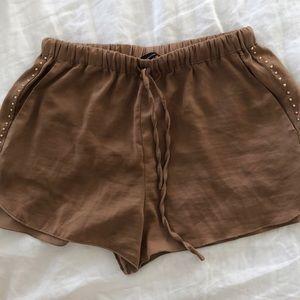 Zara Satin Shorts